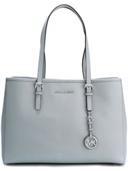 Michael Michael Kors Medium' Jet Set Travel' Tote Blue