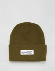 Mitchell And Ness Beanie Nostalgia Green