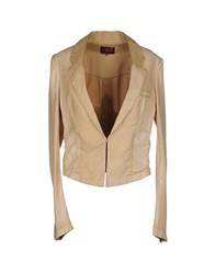 7 For All Mankind Suits And Jackets Blazers Women Sand