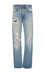 Brock Collection Wright Distressed Jeans Light Wash