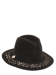 Alex Laser Cut Wool Felt Hat