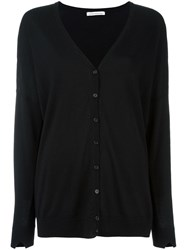 Stefano Mortari V Neck Cardigan Black