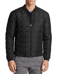 Superdry Surplus Goods Box Quilted Bomber Jacket Black