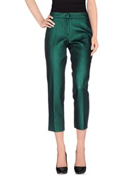 Les Prairies De Paris Trousers Casual Trousers Women Green