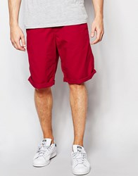 Esprit Chino Shorts Red