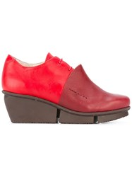 Trippen 'Rapid' Lace Up Shoes Red