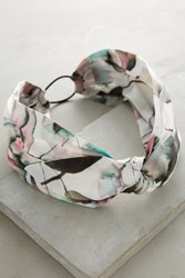 Anthropologie Rosewater Headband Medium Pink