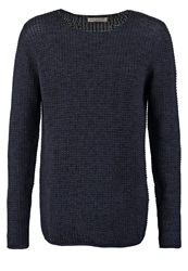 Anerkjendt Lester Jumper Blue Nights Dark Blue