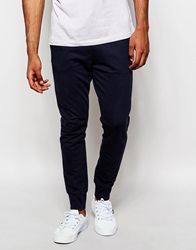 United Colors Of Benetton Sweatpants With Cuffed Ankle Navy06u