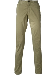 Z Zegna Chino Trousers Green