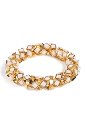 R.J.Graziano Stretch Bangle In Bone