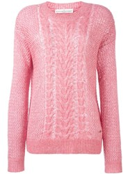 Golden Goose Deluxe Brand 'Neosho' Sweater Pink And Purple