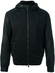 Drome Hooded Zipped Jacket Black