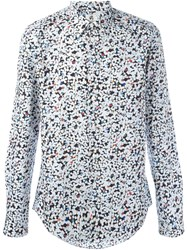 Paul Smith Ps By Confetti Print Shirt White