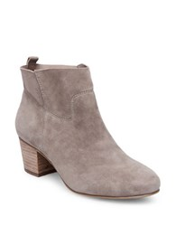 Steve Madden Harber Suede Ankle Length Booties Taupe