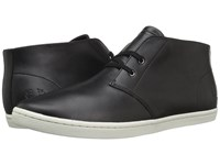 Fred Perry Byron Mid Leather Black Men's Shoes