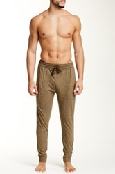 Bottoms Out Tapered Knit Jogger Green