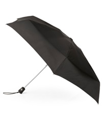 Totes Travel Aoc Umbrella Black