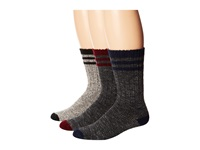 Wigwam Pine Lodge 3 Pack Natural Black Charcoal Burgendy Charcoal Navy Crew Cut Socks Shoes Gray
