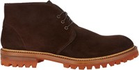 Barneys New York Lug Sole Chukka Boots Brown