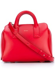 Paul Smith Round Handle Tote Red