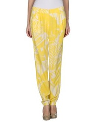 Essentiel Casual Pants Yellow