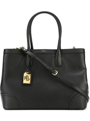 Polo Ralph Lauren Rectangular Tote Black