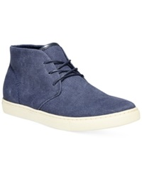 Alfani Chad Chukka Boots Only At Macy's Men's Shoes Navy