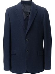 Faconnable Faconnable Notched Lapel Jacket Blue