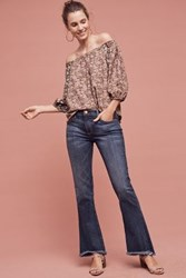 Anthropologie Current Elliott Mid Rise Flip Flop Jeans Loved