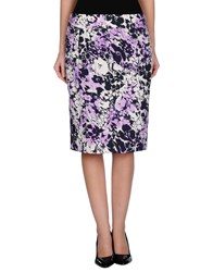 Diana Gallesi Skirts Knee Length Skirts Women Lilac
