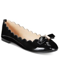 Wanted Olivia Scalloped Ballet Flats Women's Shoes Black