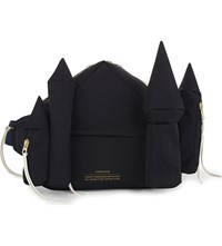 Undercover Cast Pointed Bum Bag Black