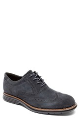 Rockport Men's 'Total Motion Fusion' Wingtip Dark Shadow