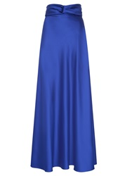 Hotsquash Silky Maxi Skirt Midnight