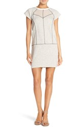 Women's French Connection Speckled Sweatshirt Dress