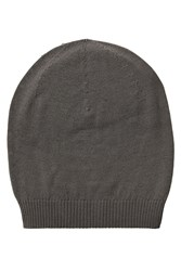 Rick Owens Virgin Wool Hat Grey