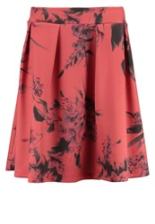 Ilse Jacobsen Bell Pleated Skirt Simply Red