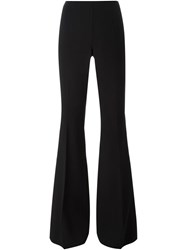 Michael Kors Flared Tailored Trousers Black