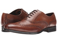 Clarks Banfield Limit Tan Leather Men's Lace Up Wing Tip Shoes