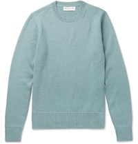 Officine Generale Alpaca Sweater Mint