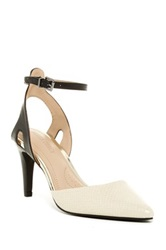 Ellen Tracy Perla Ankle Strap Pump Blue