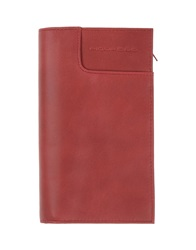 Piquadro Wallets Brick Red
