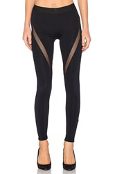 David Lerner Mesh Tribal Legging Black