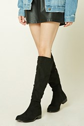 Forever 21 Slouchy Faux Suede Boots