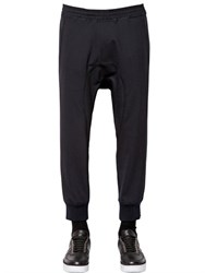 Neil Barrett Tech Wool Gabardine Jogging Pants