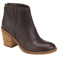John Lewis Collection Weekend By Poissy Ankle Boots Brown Leather