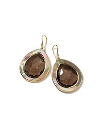 Ippolita Ondine Large Quartz And Shell Teardrop Earrings
