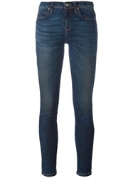 Vivienne Westwood Anglomania Stretch Cropped Jeans Blue