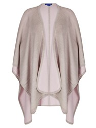 Winser London Merino Wool Reversible Poncho